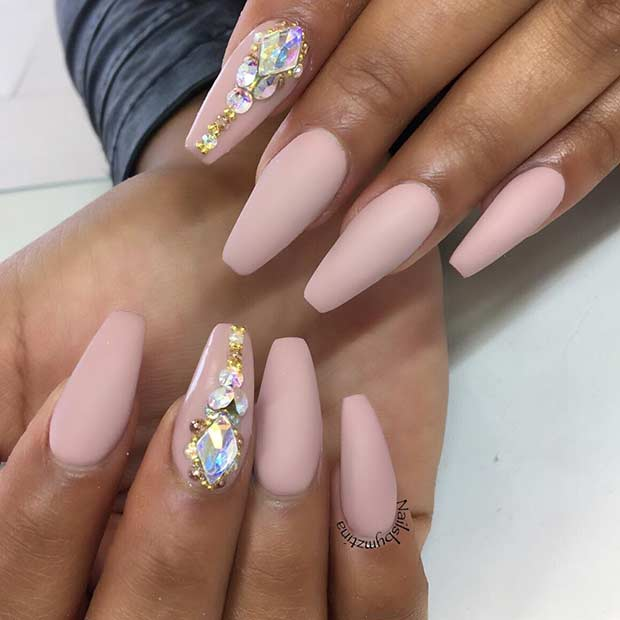 23+ Amazing and Fun Ballerina Nails Colours - Nails C