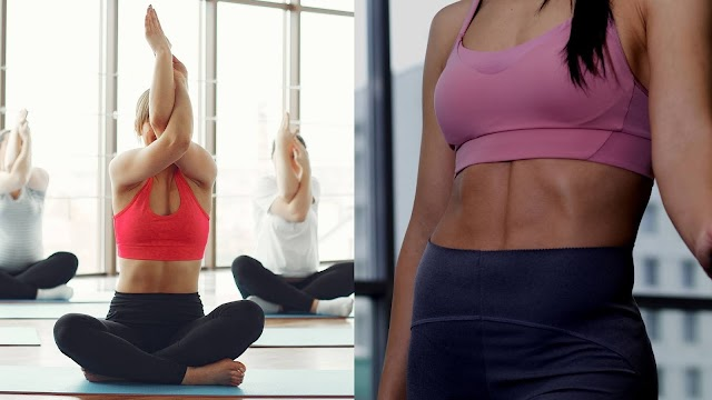 Yoga Poses for flat stomach