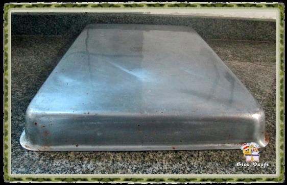 Restaurando assadeiras de alumínio 2