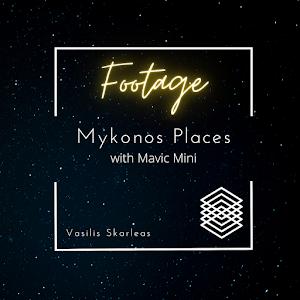 mykonos with mavic mini vasilis skarleas production