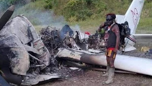 Pesawat Misionaris Kristen Dibakar OPM, Tuding Misionaris Sebagai Agen Amerika untuk Mencuri Kekayaan Alam Papua