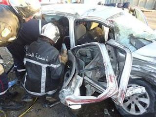 Horrible accident de la circulation à Sidi Marouf (Oran)