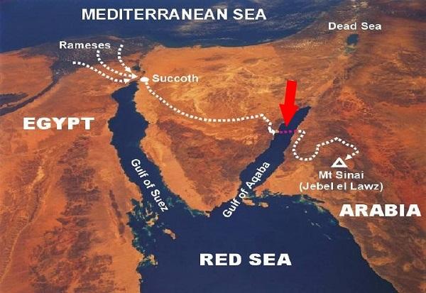 Subhanallah! Gambar Bukti Bahawa Nabi Musa Pernah Membelah Laut 11.jpg