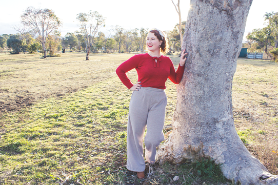 1940's land girl outfit inspiration | Lavender & Twill