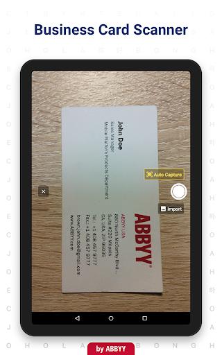 Business Card Reader - Business Card Scanner 4.25.1.2 screenshots 11