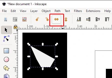 Tips inkscape : Cara Mudah Merapihkan Objek Yang Bertumpuk