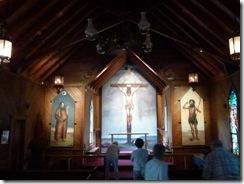 Frescoes at St Mary's Church