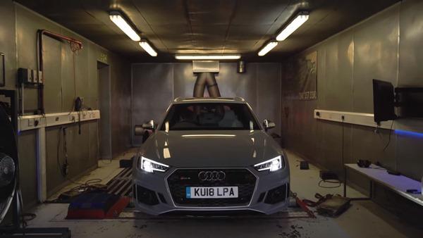Audi RS4 Dyno