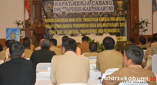 Rakercab Apdesi Kabupaten Sukabumi