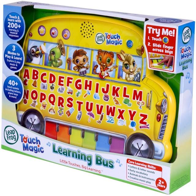 Sản phẩm Xe Buýt vui nhộn LeapFrog Touch Magic Learning Bus