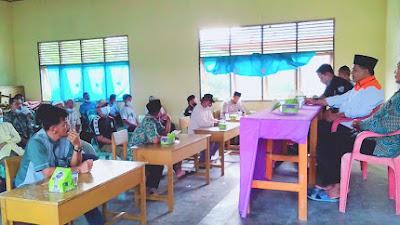 Wakil Anggota DPRD Kampar H. Fahmil,SE,ME. Hadiri Temu Ramah Dengan Saksi PKS, dan  Tokoh Masyarakat Desa Siabu