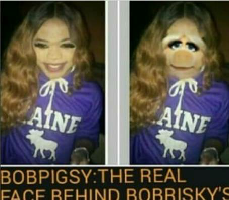 See What Someone Did To Bobrisky