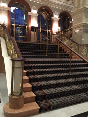 Staircase at Lotte New York Palace, Leona Helmsly