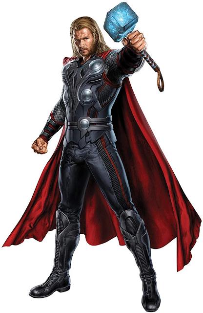 Thor -God of Thunder Giant Wall Sticker