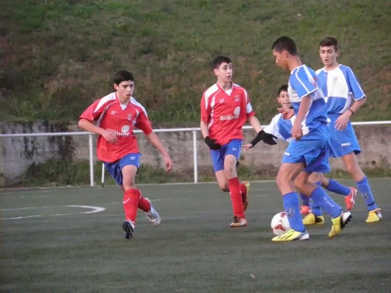 """Instante partido Copa de cadetes Numancia-Portuarios """"B"""" (23/11/2013)"""