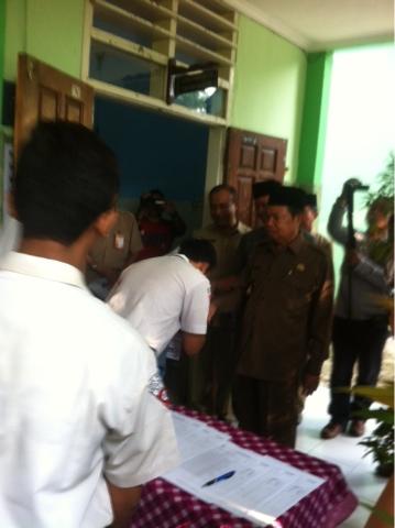 Emoh Rekayasa UN, Walikota Mojokerto Tidak Pasang Target Kelulusan