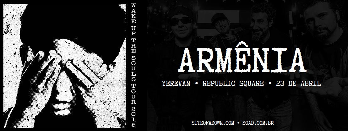 Show em Yerevan, Armênia