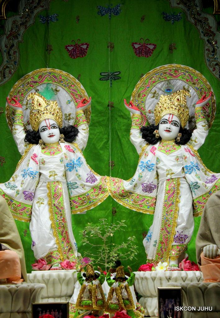 ISKCON Juhu Mangal Deity Darshan on 1st Jan 2016 (3)