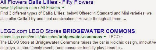 Google Websuche Titel