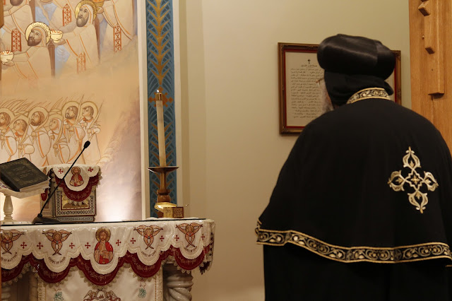 His Holiness Pope Tawadros II visit to St. Mark LA - _MG_0526.JPG