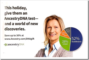 AncestryDNA 30% holiday sale