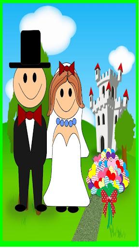 婚礼游戏的女孩