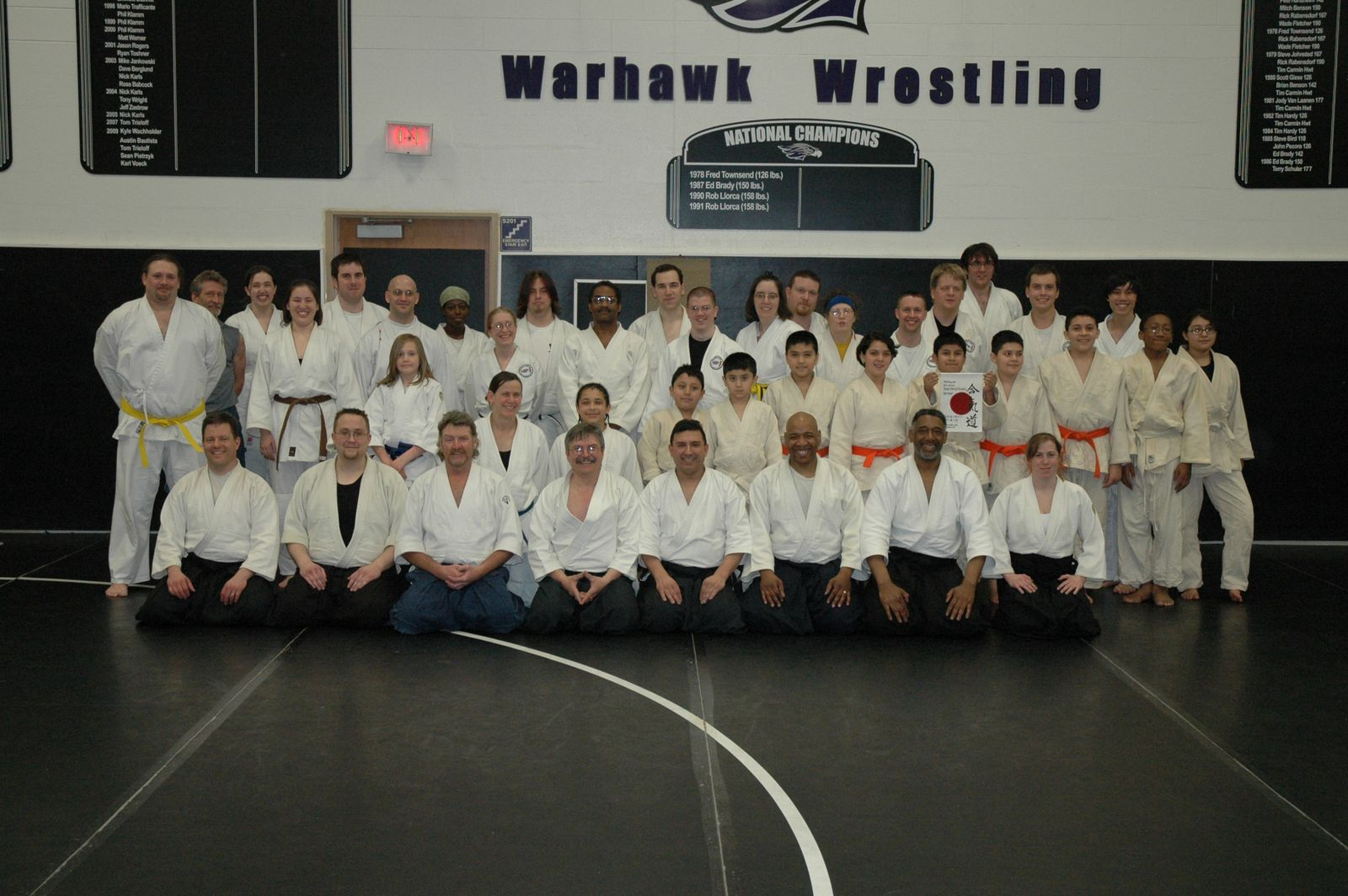 Warhawks March 2010 White Water University - Sosei Aikido Kyokai