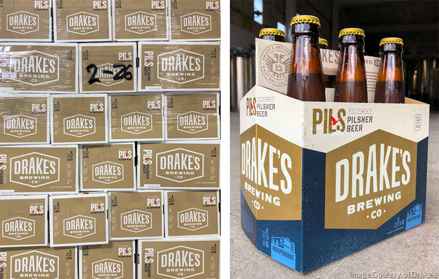 Drake's Adding Flyway Pils Bottles Year Round