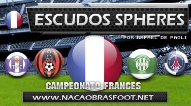 Escudo Spheres França - Brasfoot 2011