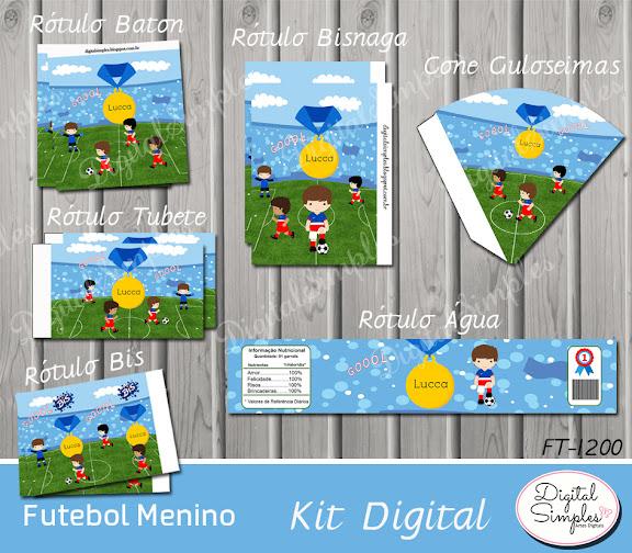 Kit Digital Futebol .....artesdigitalsimples@gmail.com