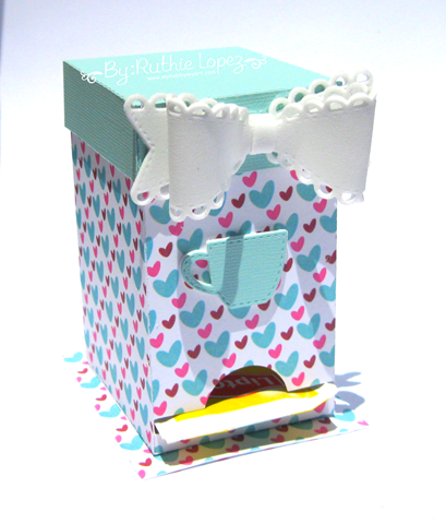 The cutting Cafe - K cup holder - Ruthie Lopez - Tea box holder2