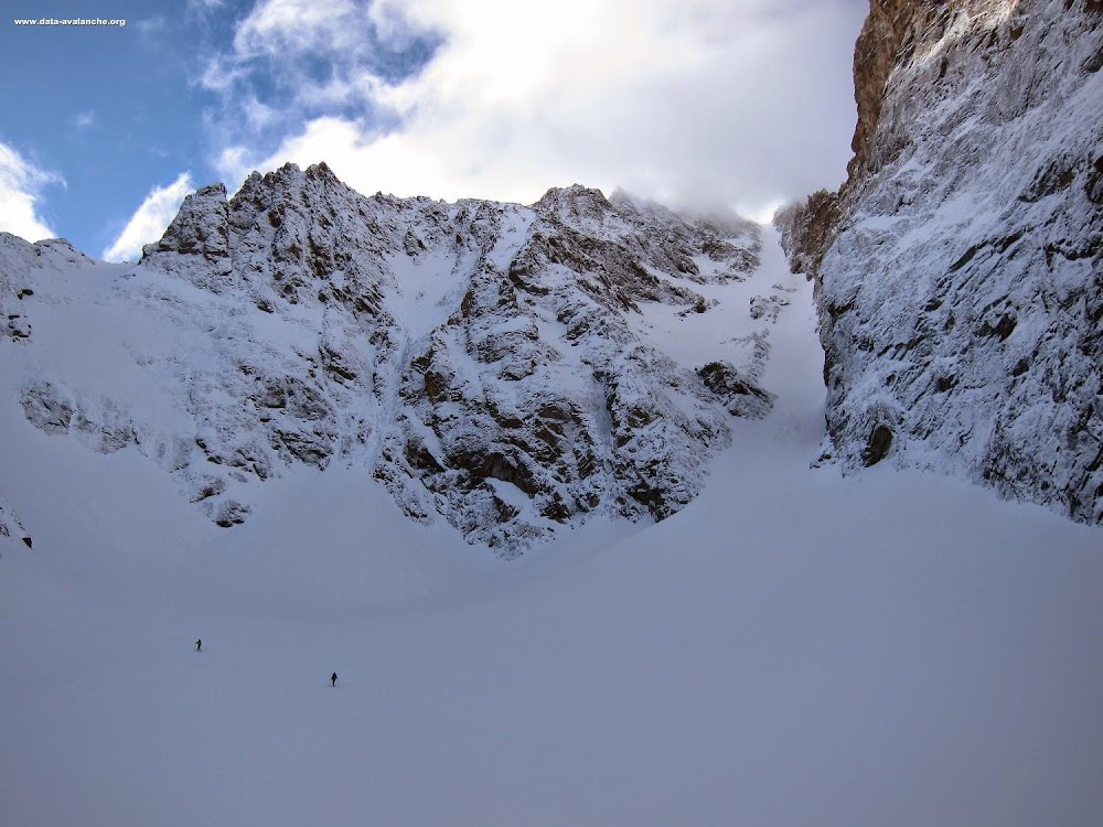 Avalanche Valle Argentera, secteur Argentera Punta Sud, Couloir Lourousa - Colle Coolidge - Photo 1 - © Chinal Jeannie