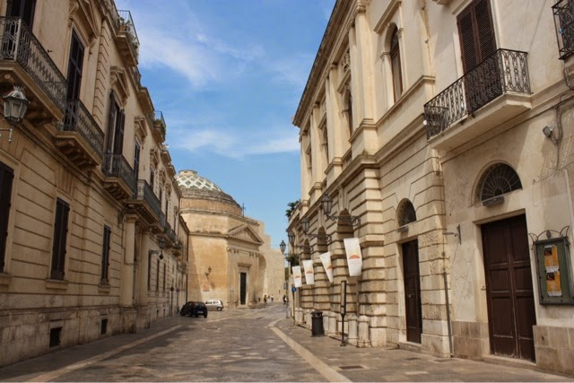 Street in Lecce, Italy