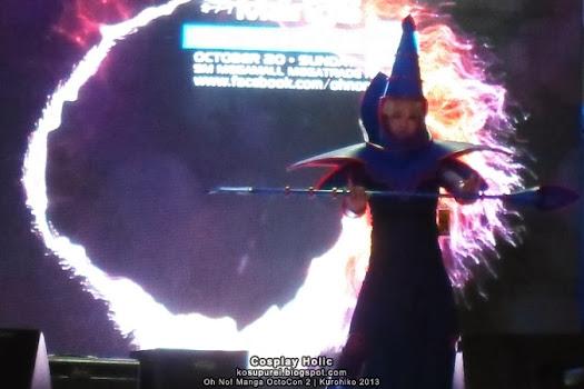 yu-gi-oh! cosplay dark magician