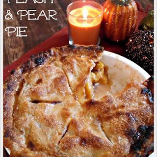 Peach & Pear Pie
