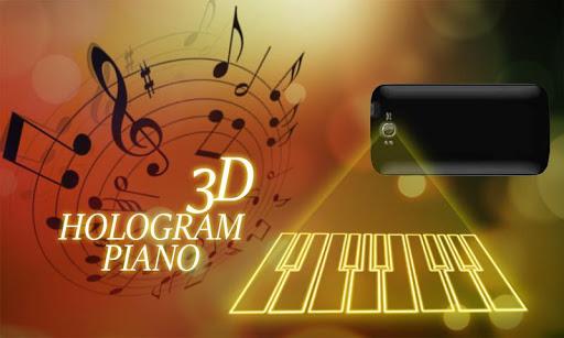 Hologram Piano Simulator
