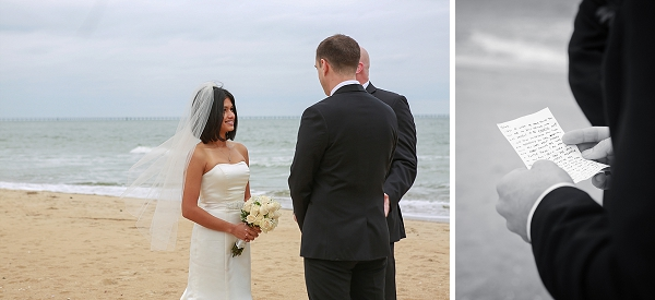 A Simple Bouquet Of White Roses And Radiant Smiles For Days These Two Came Together On What Couldn T Be More Perfect Day In Virginia Beach