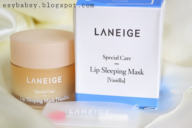 LANEIGE-LIP-SLEEPING-MASK-VANILLA-REVIEW-ESYBABSY