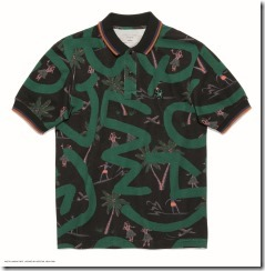 Coach x Keith Haring Polo in KH Hula Black Green (29616)