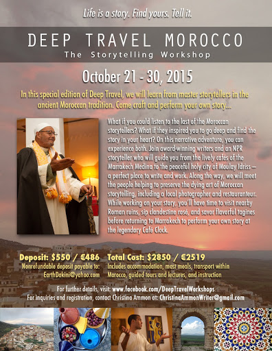 A Storytelling Workshop in Morocco