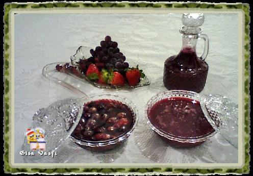 Geleia e calda de frutas vermelhas 1