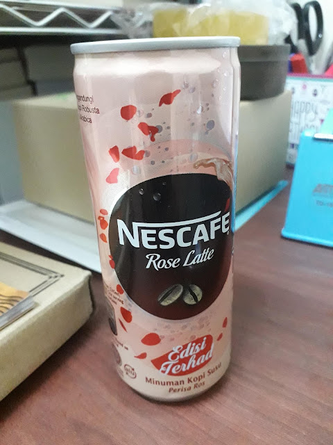 Nescafe Rose Latte (Edisi Khas)