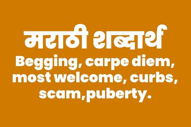 meaning in marathi   English to marathi