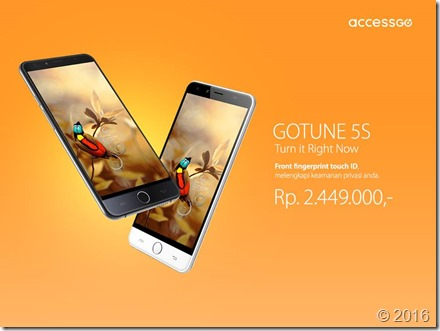 Harga Gotune 5S 2,5 Juta, Penantang Xiaomi Mi 4i & Galaxy J5