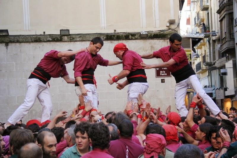 19è Aniversari Castellers de Lleida. Paeria . 5-04-14 - IMG_9478.JPG