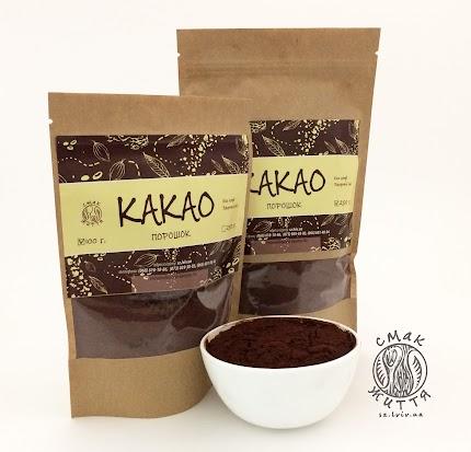 Какао-порошок темний (преміум 22%)