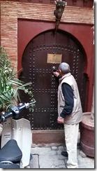 Riad La Porte Rouge front door