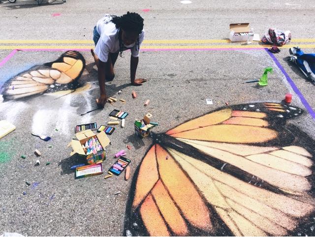 Chalk it up! Broken Arrow, OK   Art festival