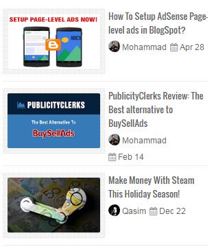 Random Posts Gadget For Blogspot