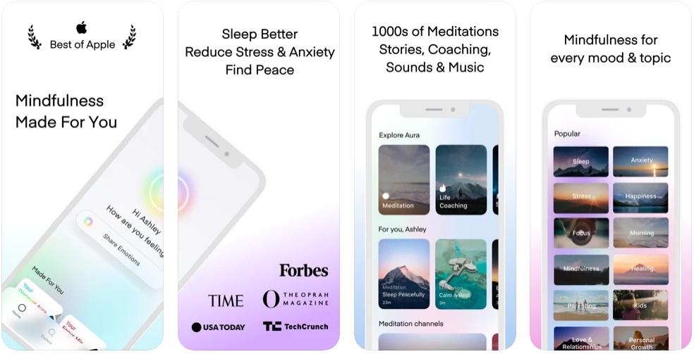 Aura: Meditation & Sleep- Mindfulness, Relaxation, Calm
